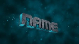 Free 3D Intro #18 | Cinema 4D/AE Template