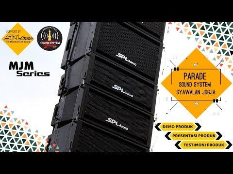 MJM SERIES!!! SPL Audio Demo Sound Syawalan 1440H Bantul 26 - 27 Juni 2019