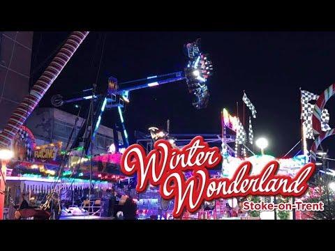 Winter Wonderland Stoke On Trent Vlog December 2017