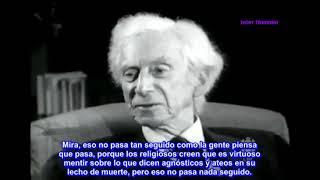 Filósofo Bertrand Russell (Premio Nobel) charla 'Sobre Dios' (Entrevista 1959).