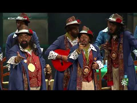 Chirigota Qué Caló Pasodoble A Cádiz Final Coac 2018 Youtube