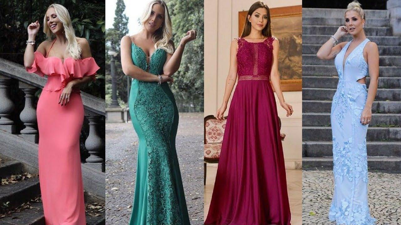 ea1be34af Tendências de cores para vestidos de Festa 2018. Dolps Moda Festa