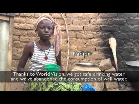 World Vision WASH programme impacts in Koro Mali