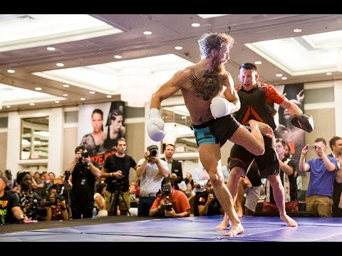UFC 189: Conor McGregor Open Workout (Complete)