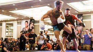 UFC 189: Conor McGregor Open Workout (Complete)