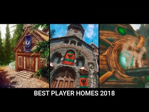 Skyrim - Top 10 Best Player Home \u0026 Castle Mods of 2018