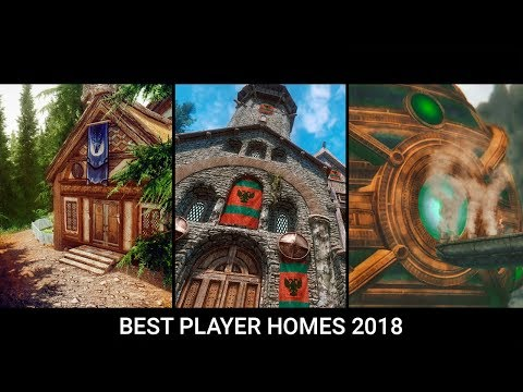 Skyrim - Top 10 Best Player Home & Castle Mods of 2018 thumbnail
