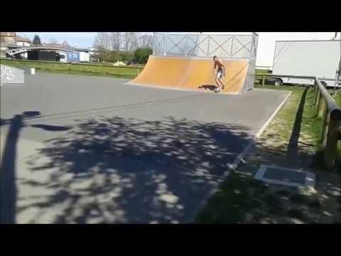 Julien da Silva handles the Wave Rider at the Ramps