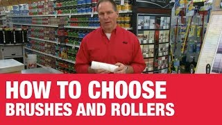 How To Pick Paint Brushes and Rollers - Ace Hardware