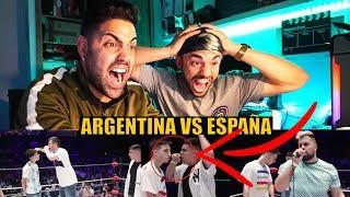 ARGENTINA vs ESPAÑA (GOD LEVEL) FORCE GANA a WOS *LA VENGANZA*