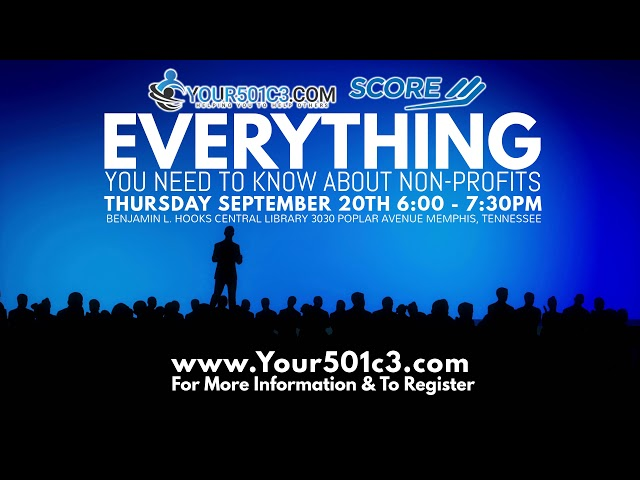 Your501c3 Presents: Everything You Need to Know About Non-Profits