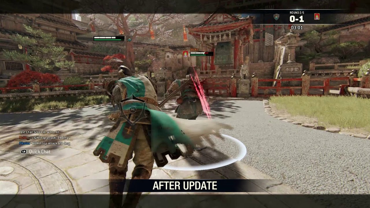 Valkyrie Warden Reworked In For Honor Patch Daily Esports