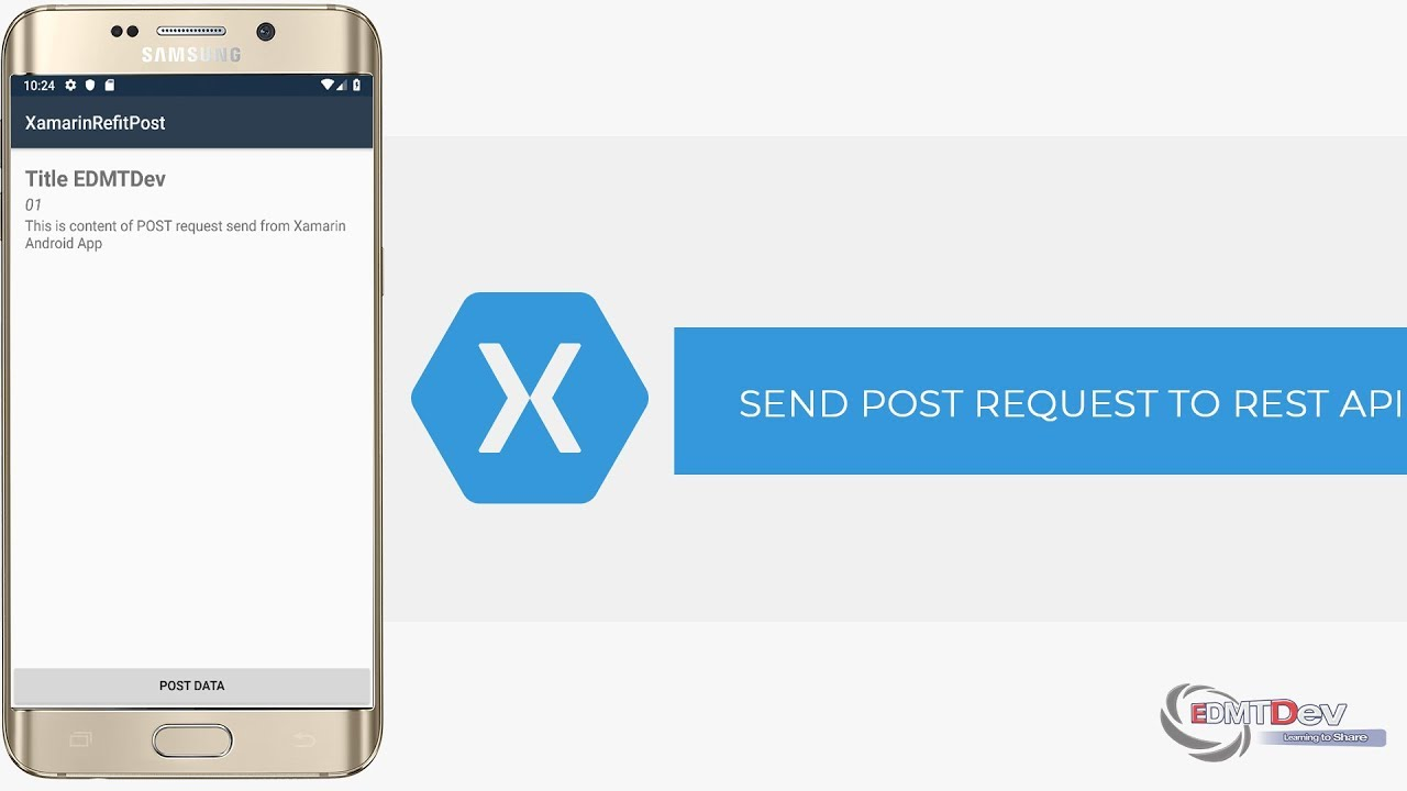 Xamarin Android Tutorial - Send Post Request to Rest API with Refit