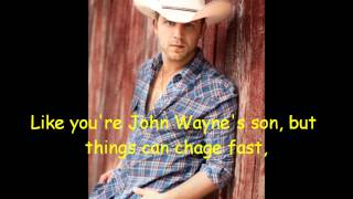 I Could Kick Your Ass- Justin Moore [Lyrics On Screen]