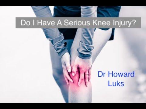 Is My Knee Injury Serious? – Howard J  Luks, MD