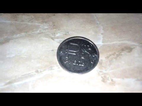 Монета 1 рубль с Графическим знаком рубля (2014)