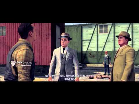 """LA Noire Walkthrough - Homicide Case #5 - """"The Studio Secretary Murder"""" Part 1"""