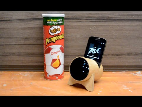 Turn a Pringles box into a Acoustic Amplifier