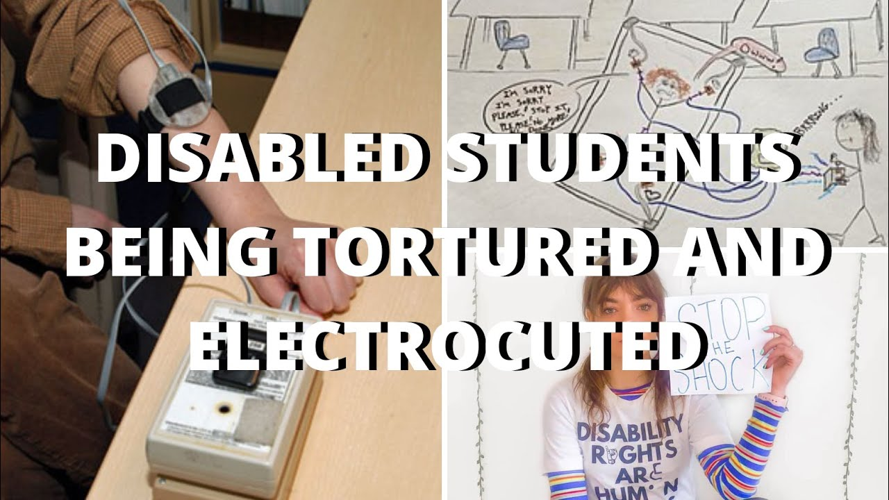 #STOPTHESHOCK ON DISABLED STUDENTS BEING ELECTROCUTED