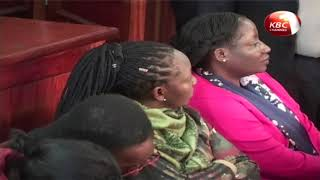 NYS suspects arraigned in court to know their fate