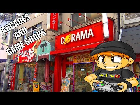 Exploring Arcades And Game Shops In Tokyo (Shimo-Kitazawa)