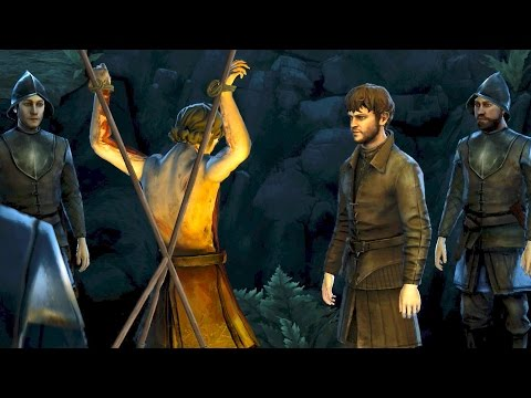 Ramsay Snow Flays a Man in Wolfswood (Game of Thrones | Telltale | Episode 1)