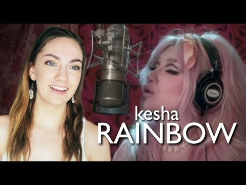 KESHA - RAINBOW (OFFICIAL VIDEO) REACTION