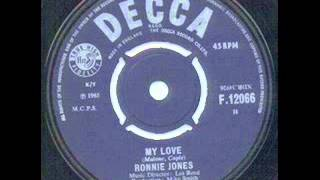 Ronnie Jones - My Love