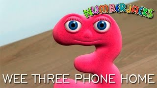 NUMBERJACKS | Wee Three Phone Home | S2E4