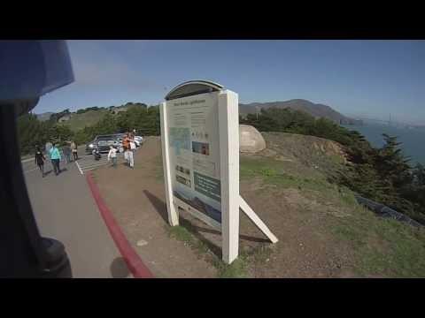 SoBeMotoVlog #1: Marin Headlands, Traffic, Dogs, the Ocean!