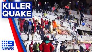 Earthquake Hits Turkey And Greek Islands | 9 News Australia