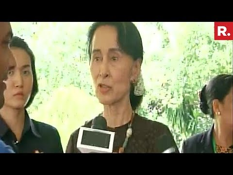 Aung San Suu Kyi Reacts To Rohingya Muslims Issue