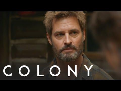 : Josh Holloway & Sarah Wayne Callies  Colony on USA Network