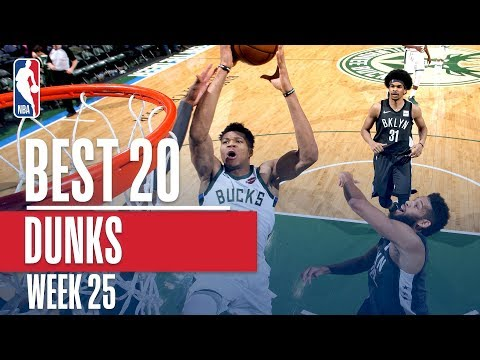 Best 20 Dunks From Week 25 of the NBA Season (LeBron, Giannis, Ben Simmons and More!)