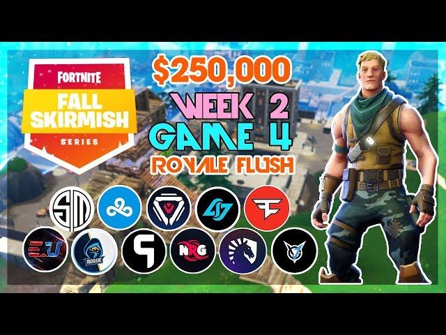 250 000 Royale Flush Fall Skirmish Week 2 Game 4 Fortnite
