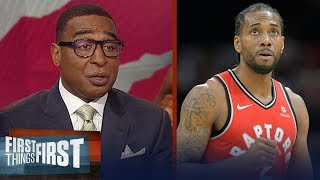 Will Kawhi Leonard stay in Toronto next season? Nick and Cris weigh in | NBA | FIRST THINGS FIRST