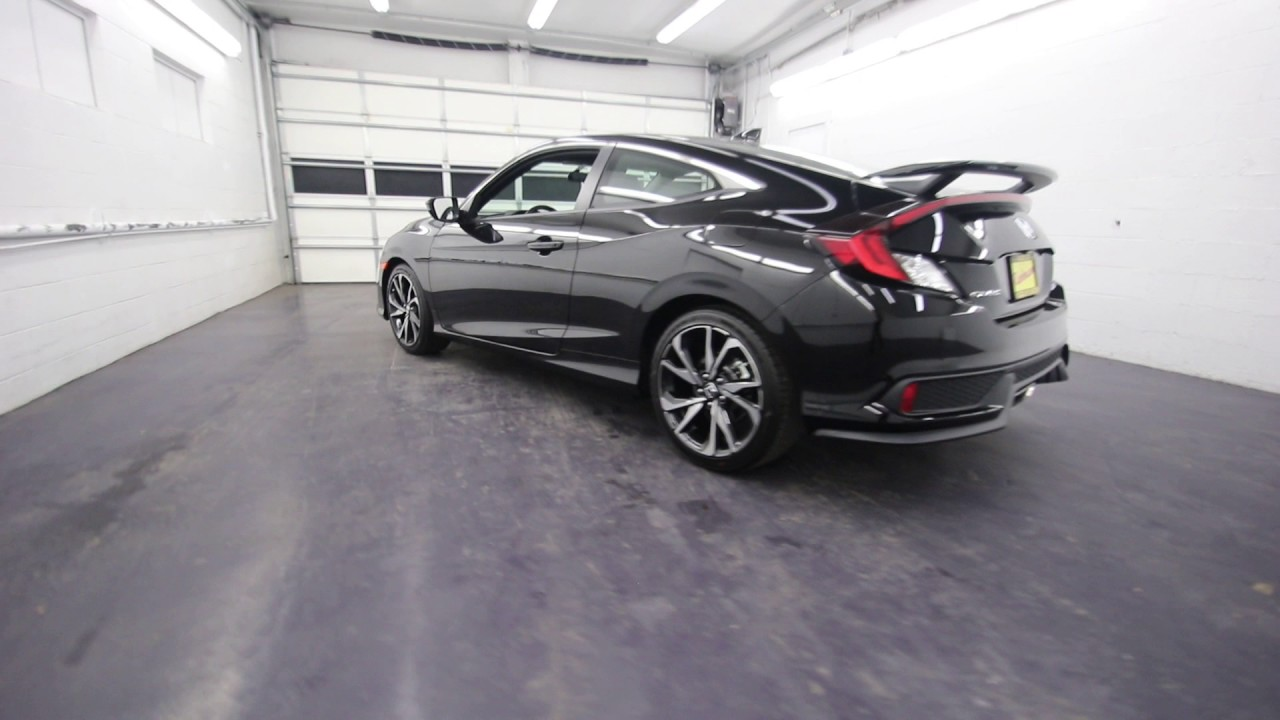 2017 honda civic si crystal black pearl hh751154 for All black honda civic