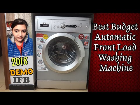 Best Fully-automatic Front Load Washing Machine|IFB Aqua Diva VX/SX|Demo in Hindi|Review