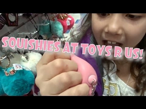 New squishies slime and putty at toys r us vlog for Cuisinette toys r us