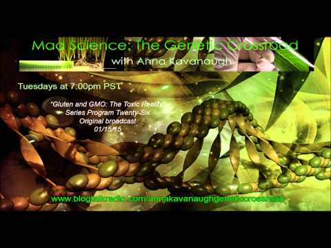 GMO Mad Science with Anna Kavanaugh - Gluten and GMO: Toxic Reality