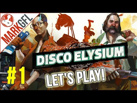 Let's Play Disco Elysium - Chaotic Detective RPG - Part 1