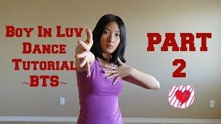 boy in luv bts mirrored dance tutorial part 2