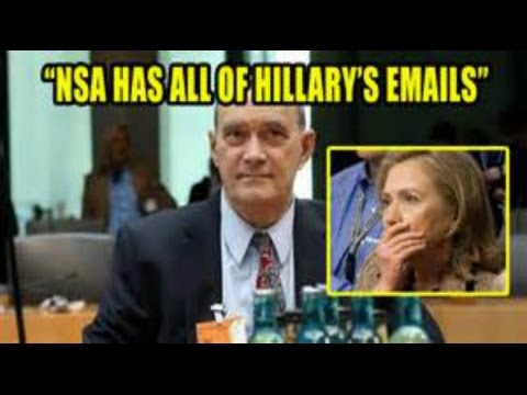 BREAKING NSA Whistle Blower NSA has ALL 33k Hillary Clinton deleted emails November 2016 News