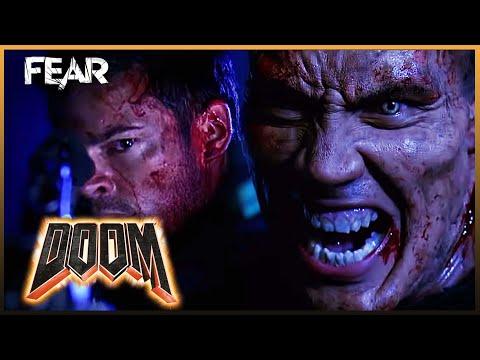 Sarge vs Reaper - Final Fight Scene | Doom (2005)
