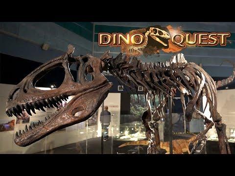 Singapore's Multi-Sensory Exhibition - DinoQuest at Science