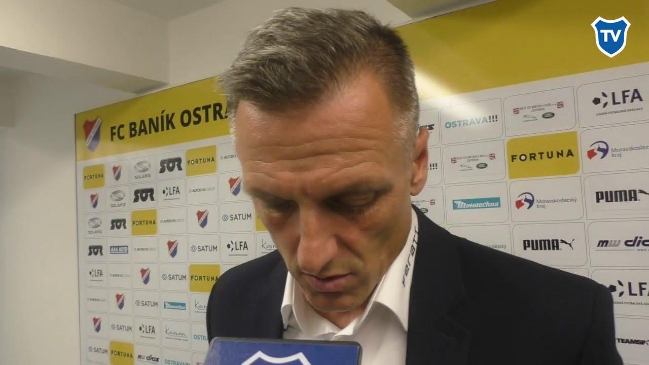 OHLASY/ Luboš Kozel po Slavii (0:1)