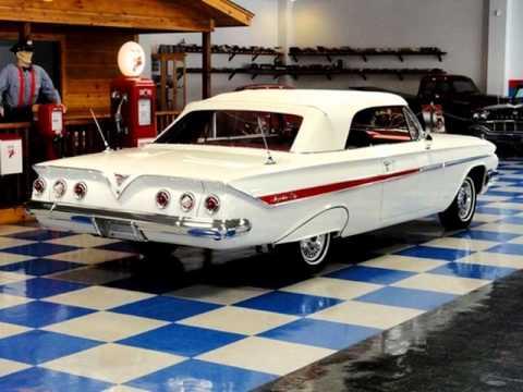 1961 Chevrolet Impala Convertible - SOLD-   LongBeach Customs LLC