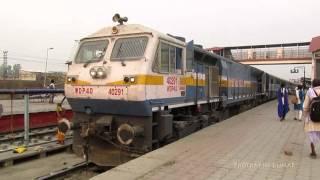 Cranking of a WDP4D locomotive... EMD GT46ACe Loco Startup - Indian Railways!!!