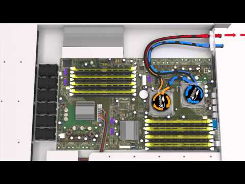 Asetek VerticalRackCDU D2C™: Direct-to-Chip, Hot Water Liquid Cooling for Data Centers