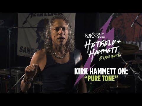 Kirk Hammett talks Guitar Strings